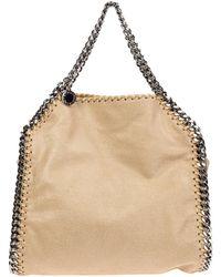 Stella McCartney Women's Handbag Tote Shopping Bag Purse Falabella Mini - Naturel