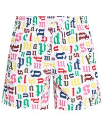 Palm Angels Swimming Trunks - Wit