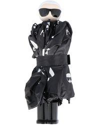 Karl Lagerfeld Umbrella - Zwart