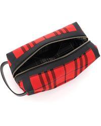 Burberry Toilet Bag Rojo