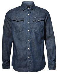 G-Star RAW Shirt - Blauw