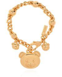 Moschino Teddy Bear Bracelet - Geel