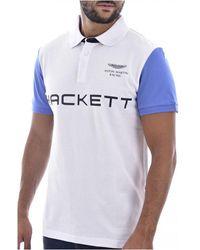 Hackett T-shirt Blanco