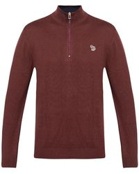 PS by Paul Smith Sweater with logo - Marron
