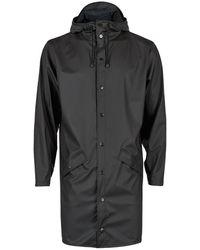 Rains Rain Long Jacket - Noir