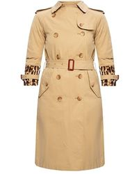 Casadei Leopard-printed coat - Neutre