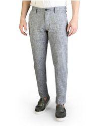 Yes-Zee Trousers P682_un00 - Grijs