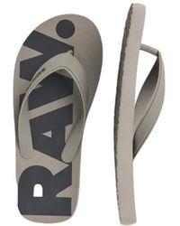 G-Star RAW Slippers - Grijs