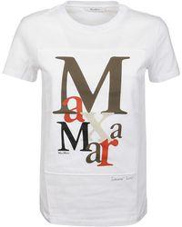 Max Mara T-shirt - Wit