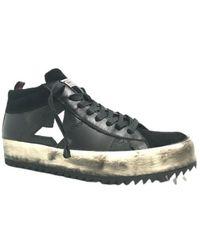 YAB Scarpe Sneakers Artigianale U17ya01 - Zwart