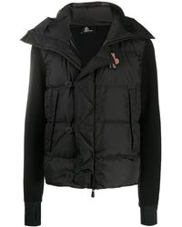 Moncler - Panelled Padded Jacket - Lyst