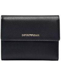 Emporio Armani Small Wallet - Schwarz