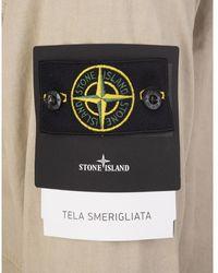 Stone Island Coat Beige - Neutro