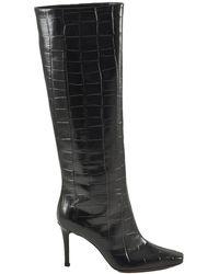 L'Autre Chose Leather boots - Negro