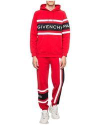 Givenchy Branded sweatpants Rojo