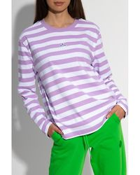 Holzweiler Long sleeve T-shirt Morado