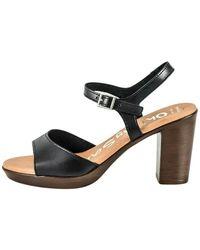 Oh My Sandals Calzado sandalia - Negro