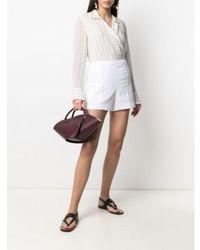 Theory Shorts - Blanc