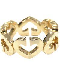 Cartier 18k Hart Ring - Geel