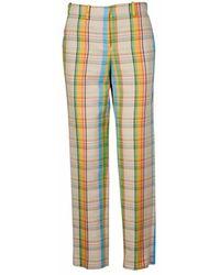 Loewe Women's D2292032ic9990 Pants - Naturel