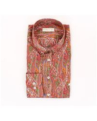 Etro Casual Shirt 163654747 - Rood