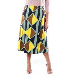 Aspesi 2204G225 Long skirts - Verde