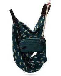 Undercover Shoulder Bag W/ Detachable Pouch - Blauw