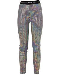 MSGM Trousers - Grijs