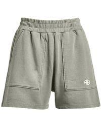 Anine Bing Kelsie Shorts A-05-9091-320 - Grijs