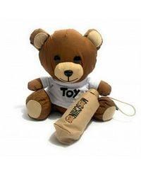 Moschino Teddy Bear & Ombrello Super Mini Retraibile O20Mo18 - Nero