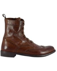 Officine Creative Boots Mars018 Wild - Marrone
