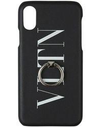 Valentino Valentino Garavani Funda Iphone X/xs - Zwart