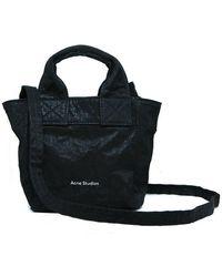 Acne Studios Crunchy Bag - Zwart