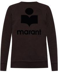 Étoile Isabel Marant Sweatshirt With Logo - Zwart