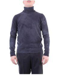 Mauro Grifoni Gh11001574 High Neck Knitwear - Grijs