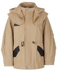 Sonia Rykiel Jacket with hood and yoke - Natur
