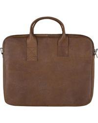 MYOMY Philip Laptop Bag - Bruin