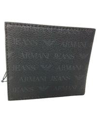 Armani Jeans Portafoglio con logatura b15aj 50 - Negro