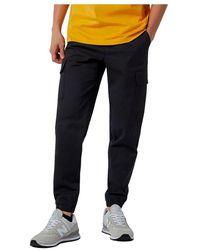 New Balance Pants Mp13501bk - Zwart