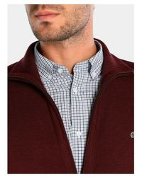 Lacoste Cardigan - Rood