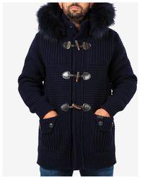 Bark Coat - Bleu