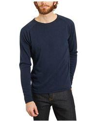Knowledge Cotton Apparel Forrest sweater - Bleu