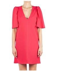 Soallure Kleid J1019 - Rosa