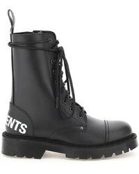 Vetements Military Boots - Zwart