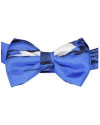 Hermès Silk Bow Tie Azul