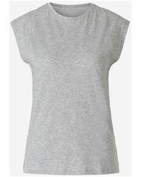 FRAME Sleeveless T-shirt - Grijs