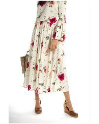 La DoubleJ Skirt Beige - Neutro