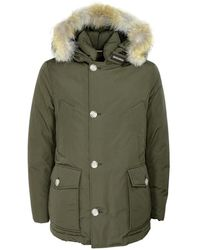 Woolrich Arctic Anorak Jacket Cfwoou0272mrut0001 - Groen