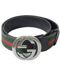 Gucci Tweedehands Riem - Groen