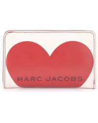 Marc Jacobs Wallet With Heart Print